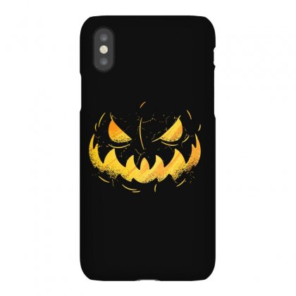 Pumpking Face Iphonex Case Designed By Disgus_thing
