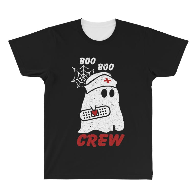 Boo Boo Crew Halloween Ghost Nurse All Over Men's T-shirt | Artistshot