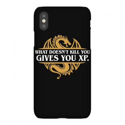 What Doesn't Kill You Gives You Xp Rpg Gamers Iphonex Case Designed By Omer Acar