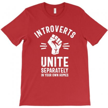 Thread Science Introverts Unite Sarcastic Nerd Loner Funny Humor T-shirt Designed By Cidolopez