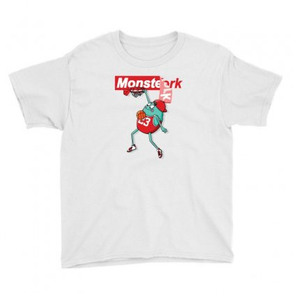 Monster Funny Youth Tee Designed By Disgus_thing