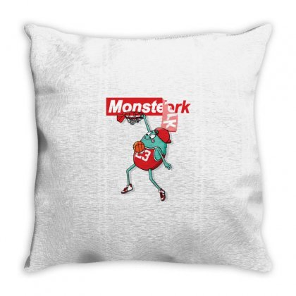 Monster Funny Throw Pillow Designed By Disgus_thing