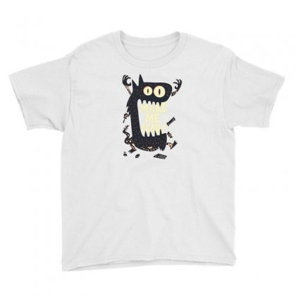 Make Me Crazy Youth Tee Designed By Disgus_thing