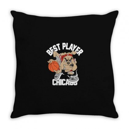 Dog Chicago Throw Pillow Designed By Disgus_thing