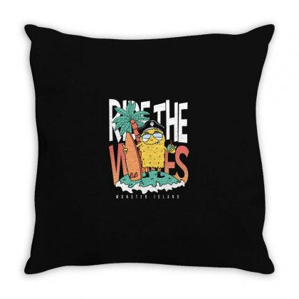 Monster Island Throw Pillow Designed By Disgus_thing