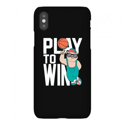 Basketball Play To Win Iphonex Case Designed By Disgus_thing