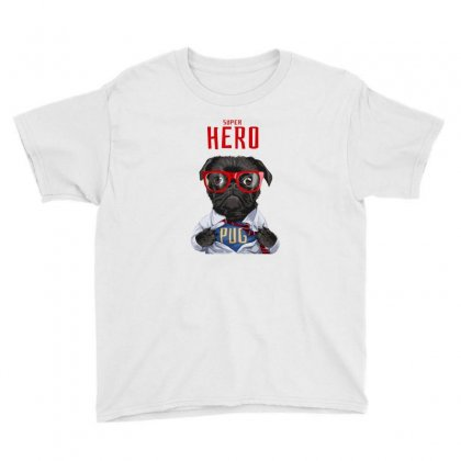 Dog Super Hero Youth Tee Designed By Disgus_thing