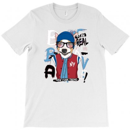Dog Newyork Trend T-shirt Designed By Disgus_thing