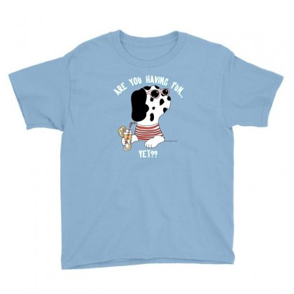 Dog Fun Youth Tee Designed By Disgus_thing