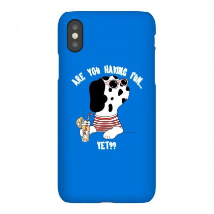 Dog Fun Iphonex Case Designed By Disgus_thing