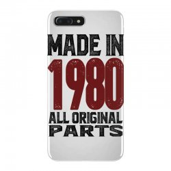 Made in 1980 iPhone 7 Plus Case | Artistshot