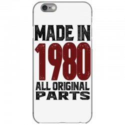 Made in 1980 iPhone 6/6s Case | Artistshot