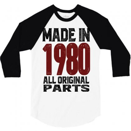 Made In 1980 3/4 Sleeve Shirt Designed By Chris Ceconello