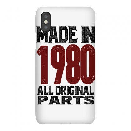 Made In 1980 Iphonex Case Designed By Chris Ceconello