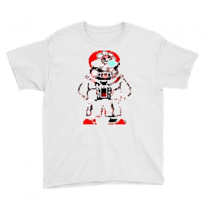 Sans Game Retro Youth Tee Designed By Shadowart
