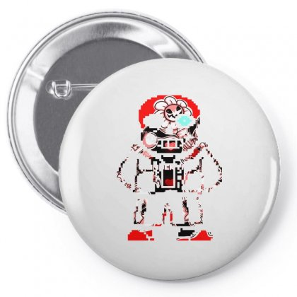 Sans Game Retro Pin-back Button Designed By Shadowart
