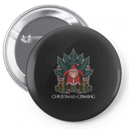 Santa Of Thrones Pin-back Button Designed By Shadowart