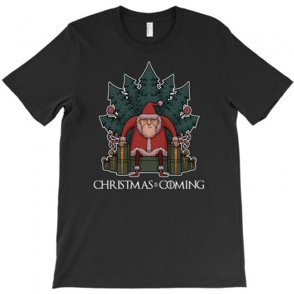 Santa Of Thrones T-shirt Designed By Shadowart