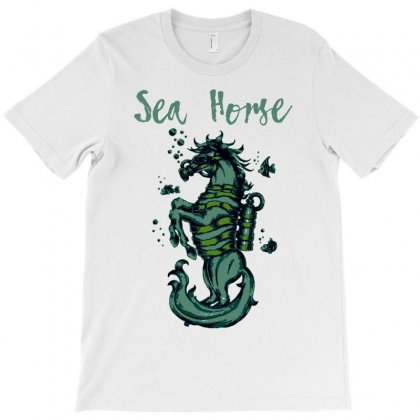Sea Horse T Shirt   Horse T Shirt T-shirt Designed By Shadowart