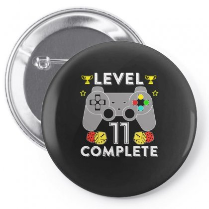 Level 11 Complete T Shirt Pin-back Button Designed By Hung