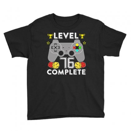 Level 76 Complete Youth Tee Designed By Hung