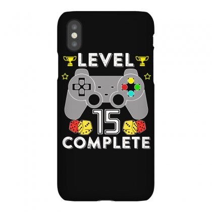 Level 15 Complete T Shirt Iphonex Case Designed By Hung