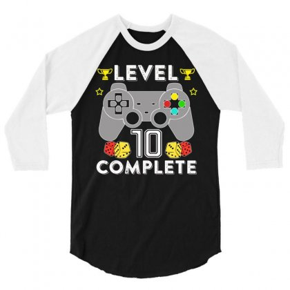 Level 10 Complete 3/4 Sleeve Shirt Designed By Hung
