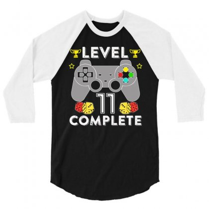 Level 11 Complete T Shirt 3/4 Sleeve Shirt Designed By Hung