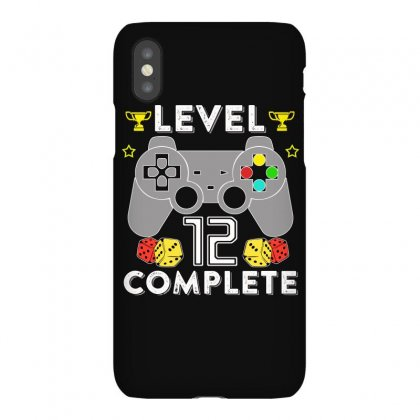 Level 12 Complete T Shirt Iphonex Case Designed By Hung