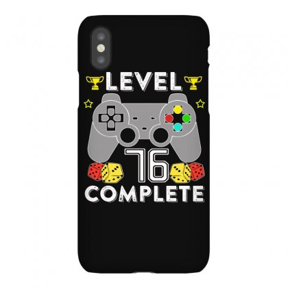 Level 76 Complete Iphonex Case Designed By Hung