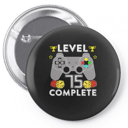 Level 75 Complete Pin-back Button Designed By Hung