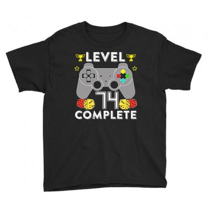 Level 74 Complete Youth Tee Designed By Hung