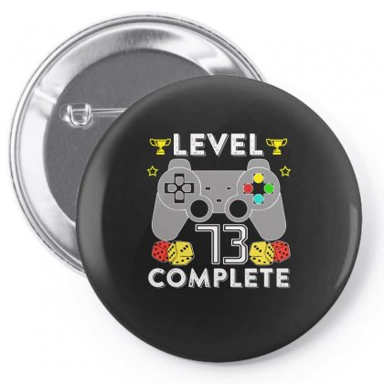 Level 73 Complete Pin-back Button Designed By Hung