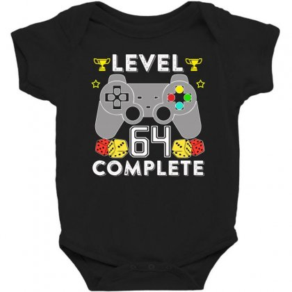 Level 64 Complete Baby Bodysuit Designed By Hung