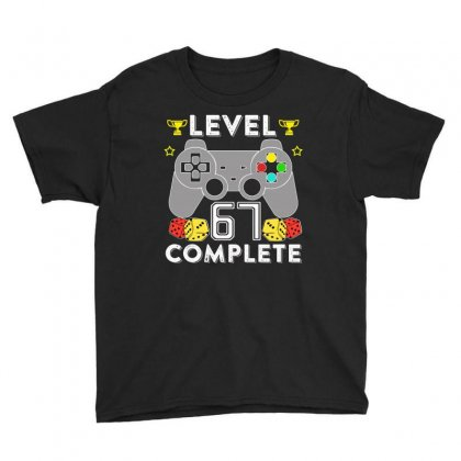 Level 67 Complete Youth Tee Designed By Hung