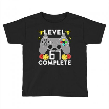 Level 67 Complete Toddler T-shirt Designed By Hung