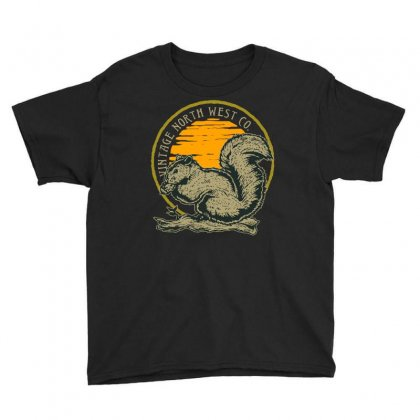 Squirrel T Shirt Youth Tee Designed By Shadowart