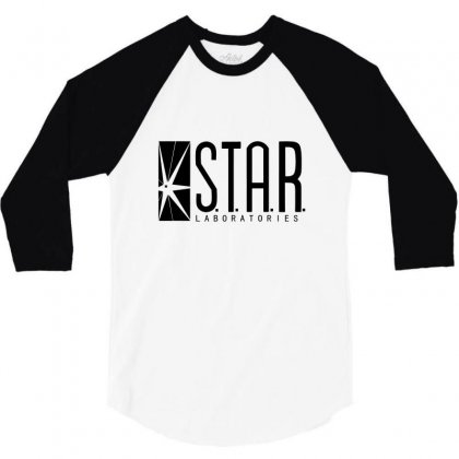 Star Lab 3/4 Sleeve Shirt Designed By Shadowart