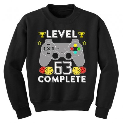 Level 63 Complete T Shirt Youth Sweatshirt Designed By Hung