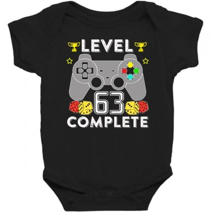 Level 63 Complete T Shirt Baby Bodysuit Designed By Hung