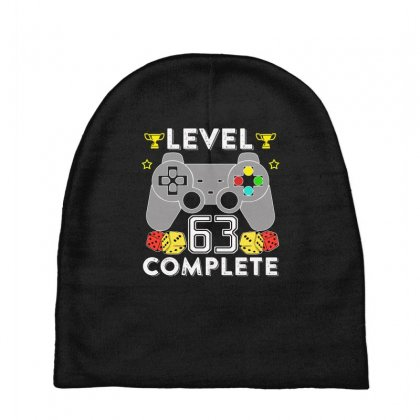 Level 63 Complete T Shirt Baby Beanies Designed By Hung