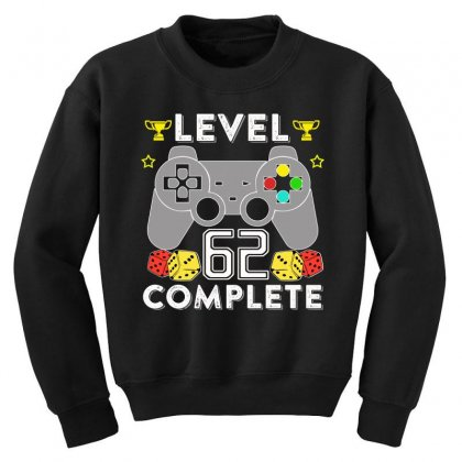 Level 62 Complete T Shirt Youth Sweatshirt Designed By Hung