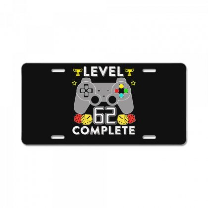 Level 62 Complete T Shirt License Plate Designed By Hung