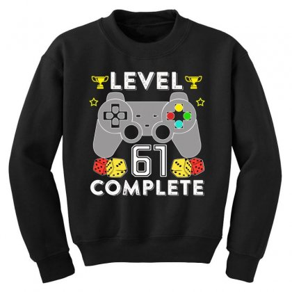 Level 61 Complete T Shirt Youth Sweatshirt Designed By Hung