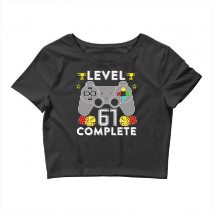 Level 61 Complete T Shirt Crop Top Designed By Hung