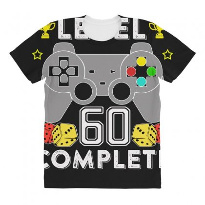 Level 60 Complete T Shirt All Over Women's T-shirt Designed By Hung