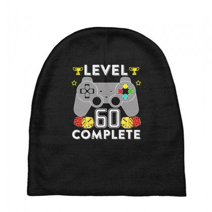 Level 60 Complete T Shirt Baby Beanies Designed By Hung