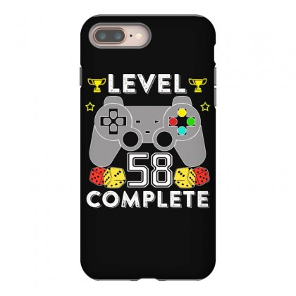 Level 58 Complete T Shirt Iphone 8 Plus Case Designed By Hung