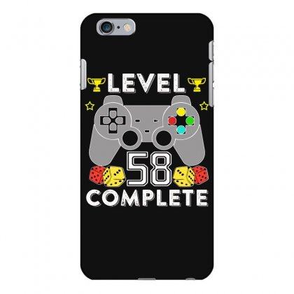 Level 58 Complete T Shirt Iphone 6 Plus/6s Plus Case Designed By Hung
