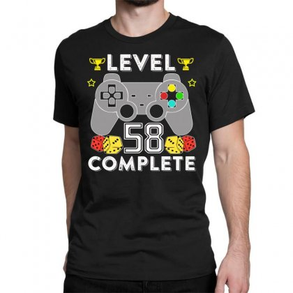 Level 58 Complete T Shirt Classic T-shirt Designed By Hung